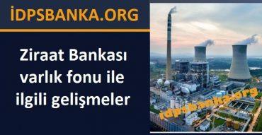 Ziraat bankası varlık fonu