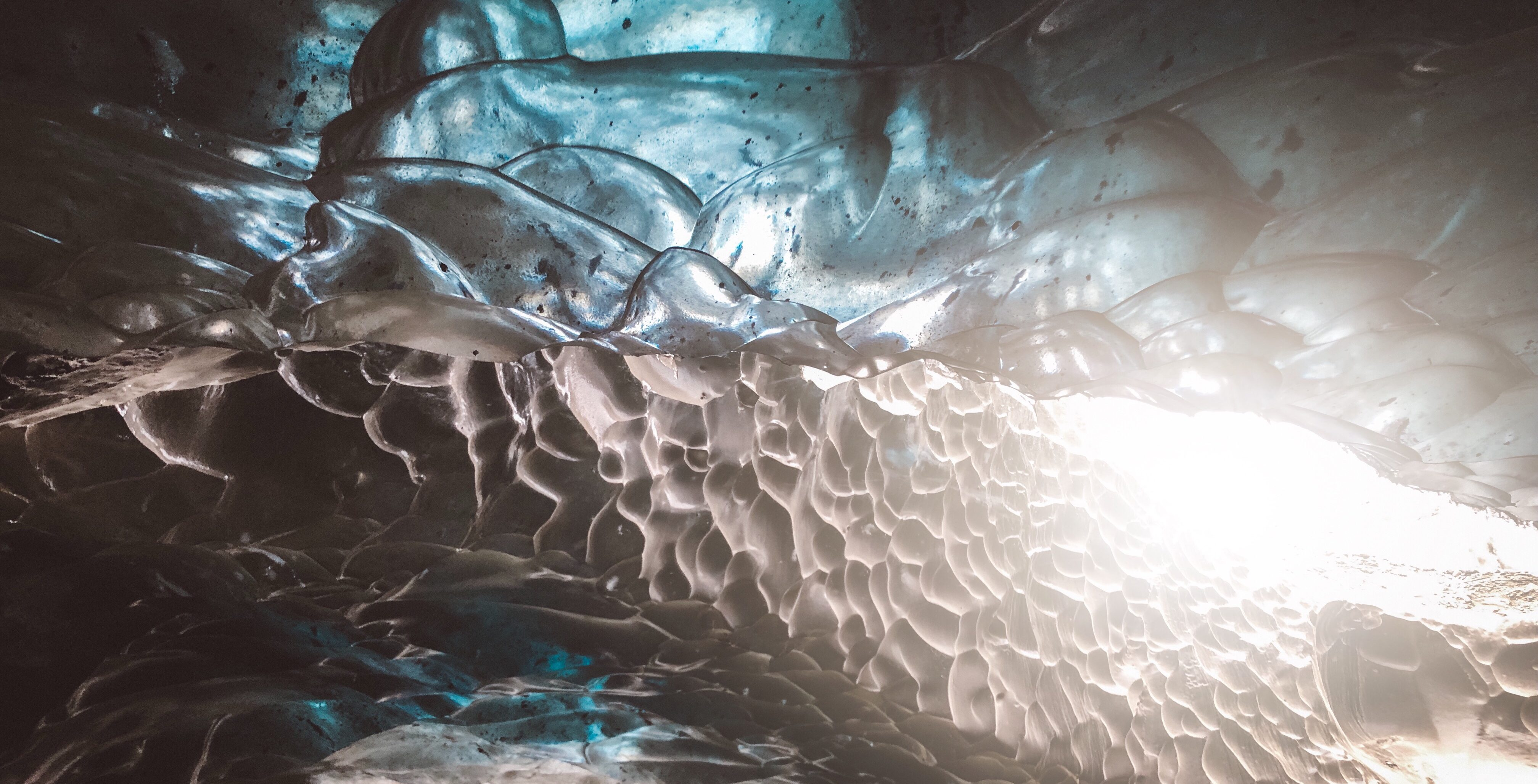 Ice Cave in Vatnajokull National Park Iceland