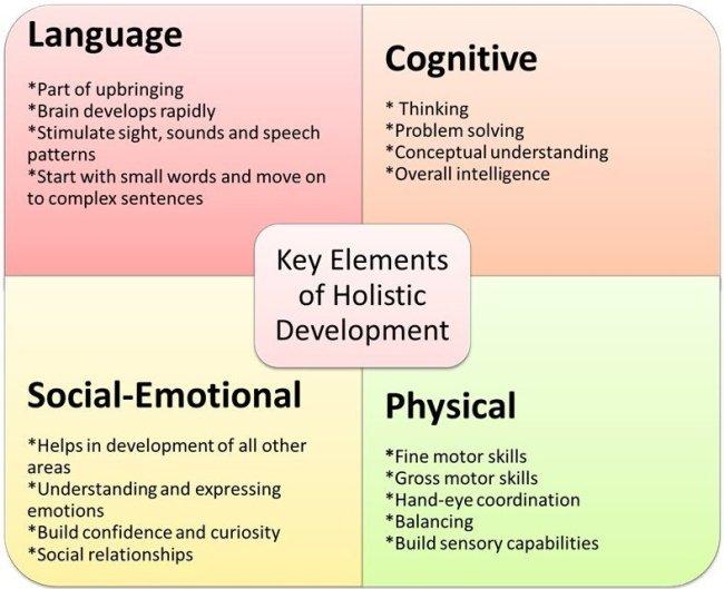 Key elements of holistic development