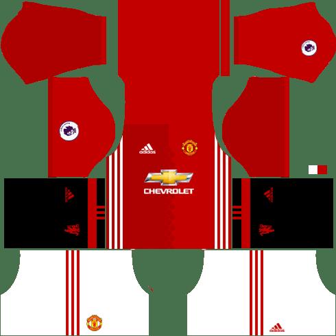 Kit Dan Logo Manchester United Dls 2018 Manchester United 2018 2019 League Soccer 18 Dls Fts Kits Forma Ve Logo Wid10 Kits Uniformes Para Fts 15 Y League Soccer Kits Uniformes