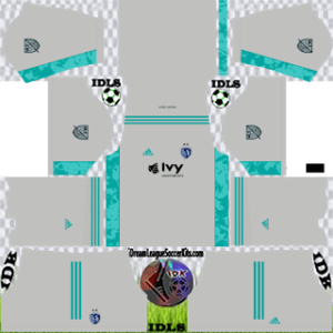 Sporting Kansas City DLS Kit 2021 third For DLS19