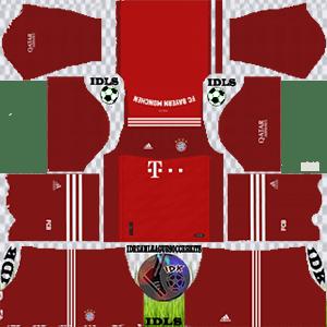 Bayern Munich kit 2022 home