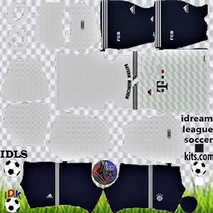 Bayern Munich kit dls 2022 away