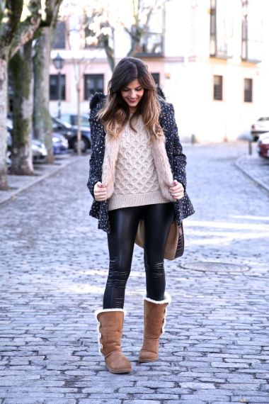 leather-legging-with-ugg-boots-bmodish