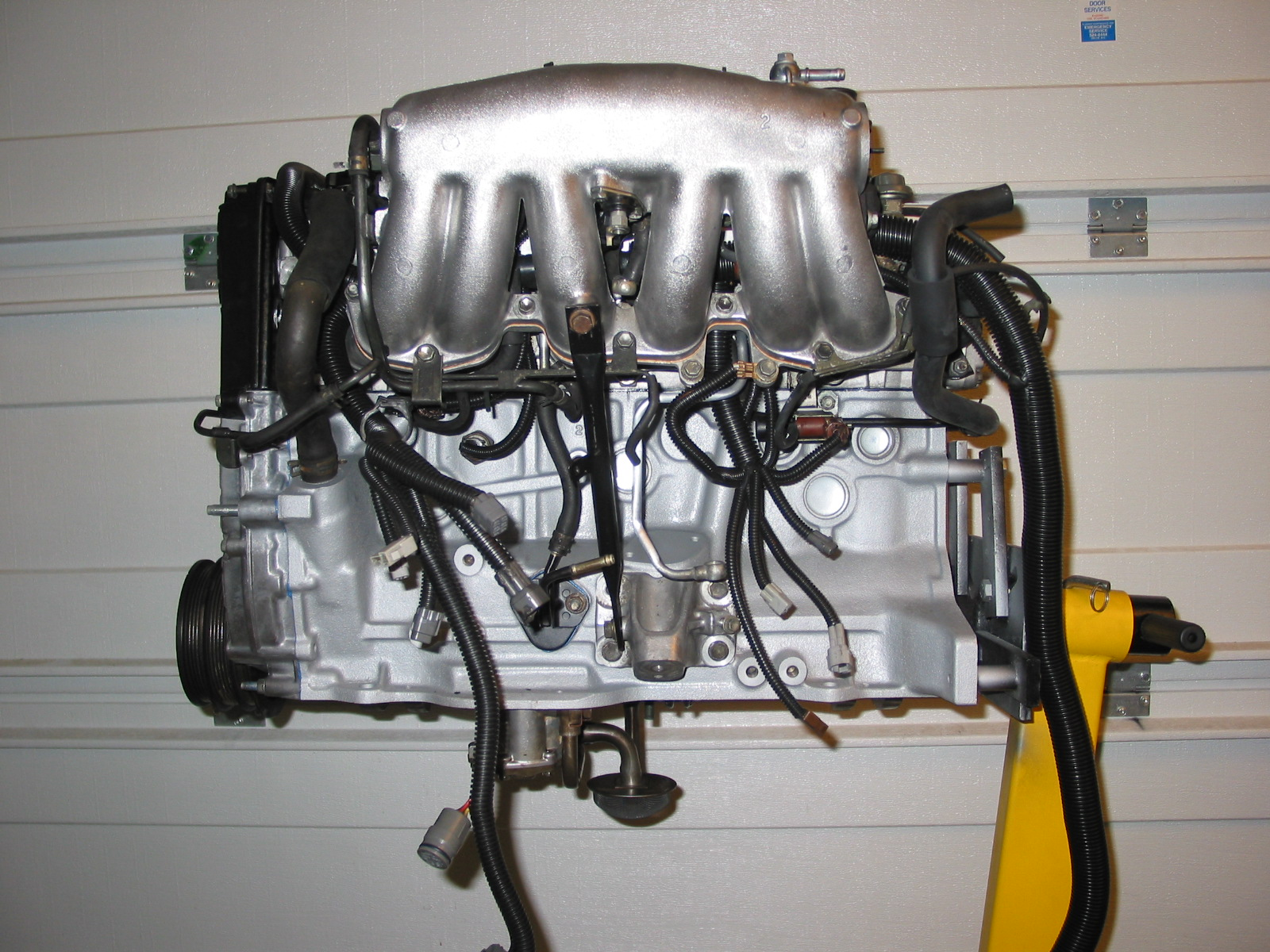 hight resolution of  2 that goes up through the intake manifold runners and connects to the hardline used as a vacuum source for your bypass valve