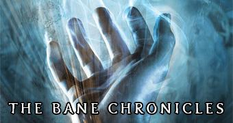 Foto de George Blagden narrando As Crônicas de Bane