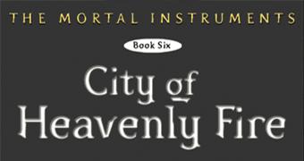 Fotos do extra da versão britânica de Cidade do Fogo Celestial