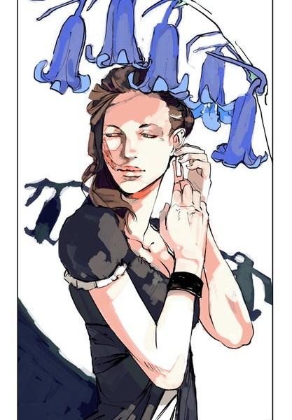 Nova fan art na linguagem das flores: Sophie Collins