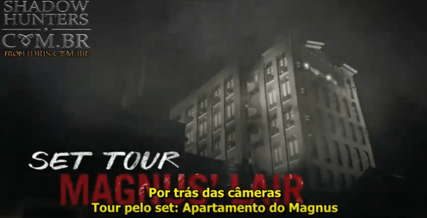 """[VÍDEO LEGENDADO] Conheça o apartamento do Magnus em """"Shadowhunters""""!"""