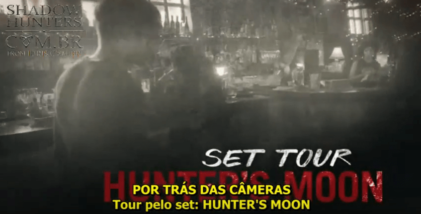 """[VÍDEO LEGENDADO] Primeiro vislumbre do """"Hunter's Moon"""" e Maia Roberts!"""