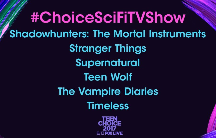 [ATUALIZADO] Shadowhunters, Matthew Daddario, Emeraude Toubia, Malec e Harry Shum Jr indicados ao Teen Choice Awards 2017!