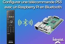 Configurer une télécommande PS3 ou autre Bluetooth sur un Raspberry PI
