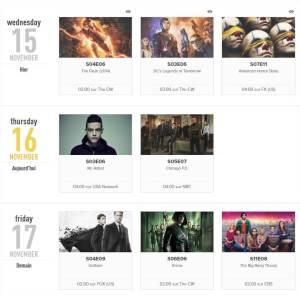 Idroid Tv show time Organisez et commentez enregistrez synchronisez vos séries TV en ligne avec vos amis