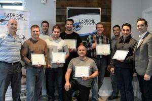 Pilotes certifiés par I/Drone Montréal