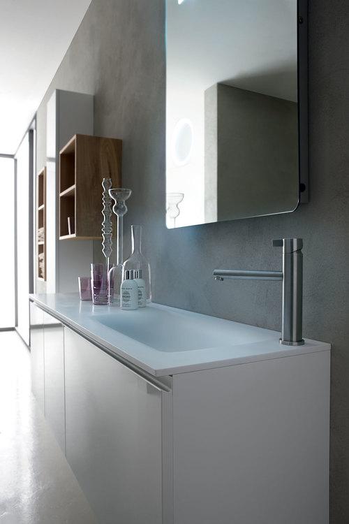 beautiful come creare spazi contenitivi in un bagno lungo