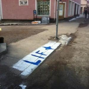 Leksands trottoar