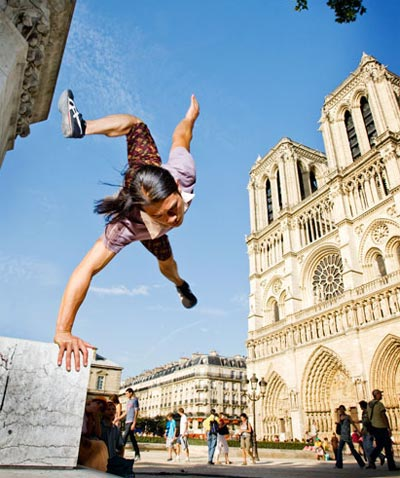 Jumping for Joy: An Innovation Perspective on Parkour