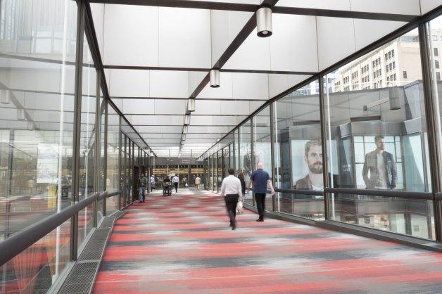 IDS Center Skyway