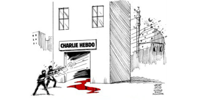 Cartoon world has double standard on freedom of speech