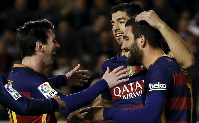 Image result for Arda Turan Messi Neymar and suarez