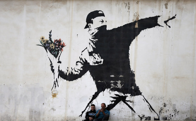 elusive street artist banksy