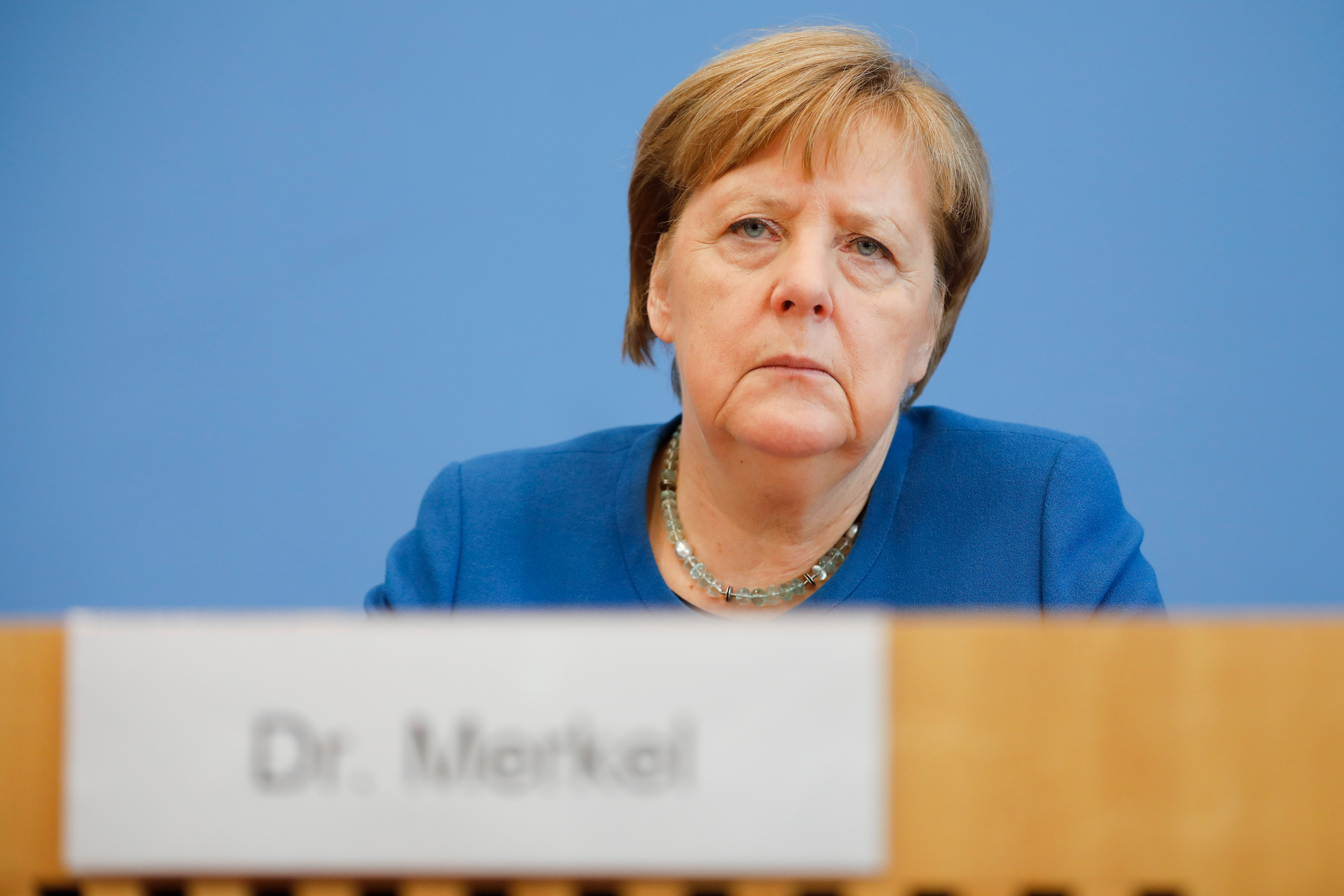 Up to 70% of Germans could end up infected by virus, Merkel warns ...