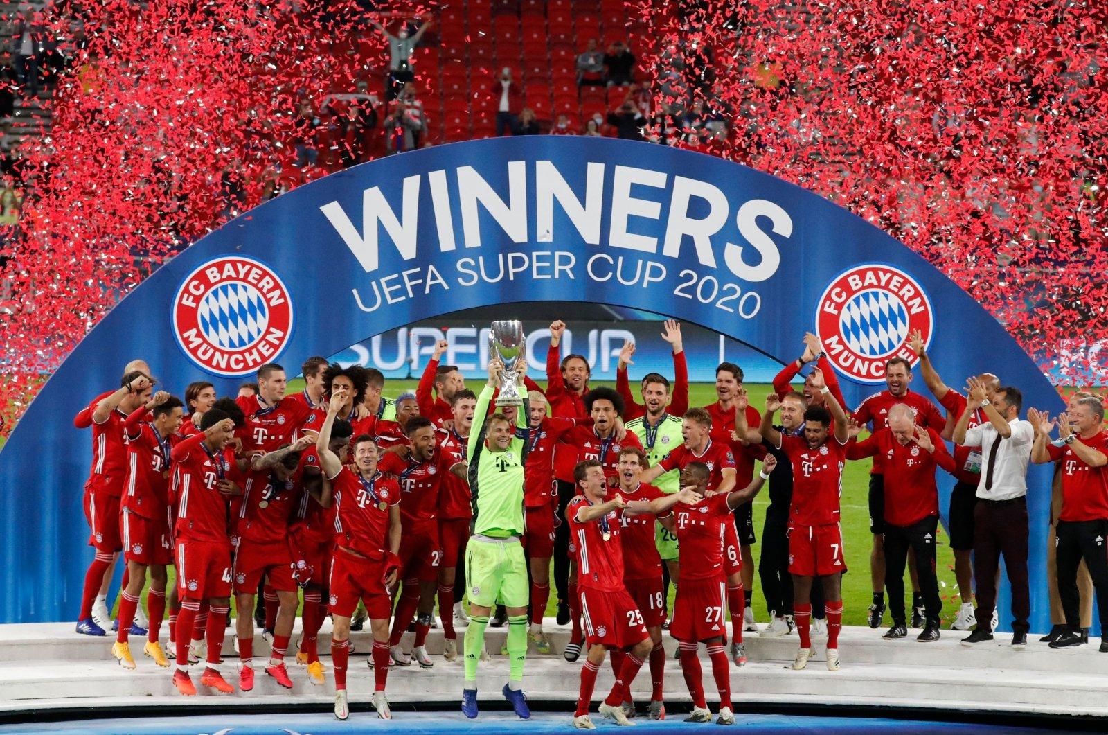 Ini bukti cristiano ronaldo raja liga champions,. Quadruple kings: Bayern downs Sevilla to lift UEFA Super ...