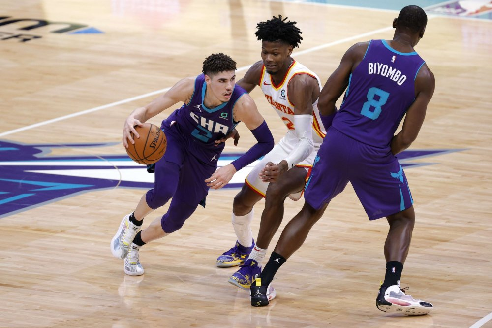 LaMelo Ball becomes youngest in NBA with triple-double as Hornets top Hawks  | Daily Sabah