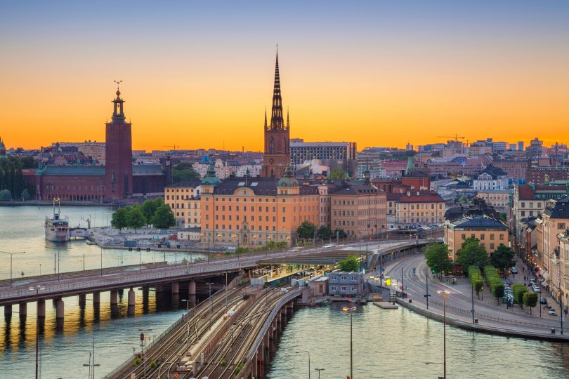 Travel through the Alps into Rome, Stockholm, Milan or Venice. (Shutterstock Photo)