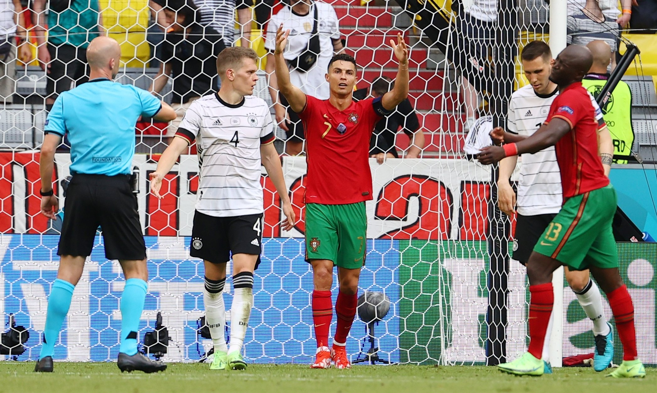 Portugal's own-goal galore gives Germany hope in Euro 2020 | Daily Sabah