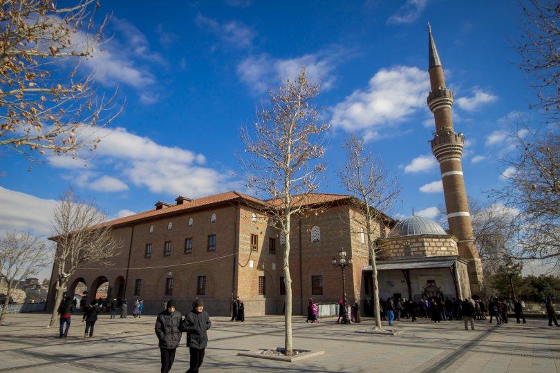 Hacı Bayram Veli Mosque in Ankara, Turkey. (Shutterstock Photo)