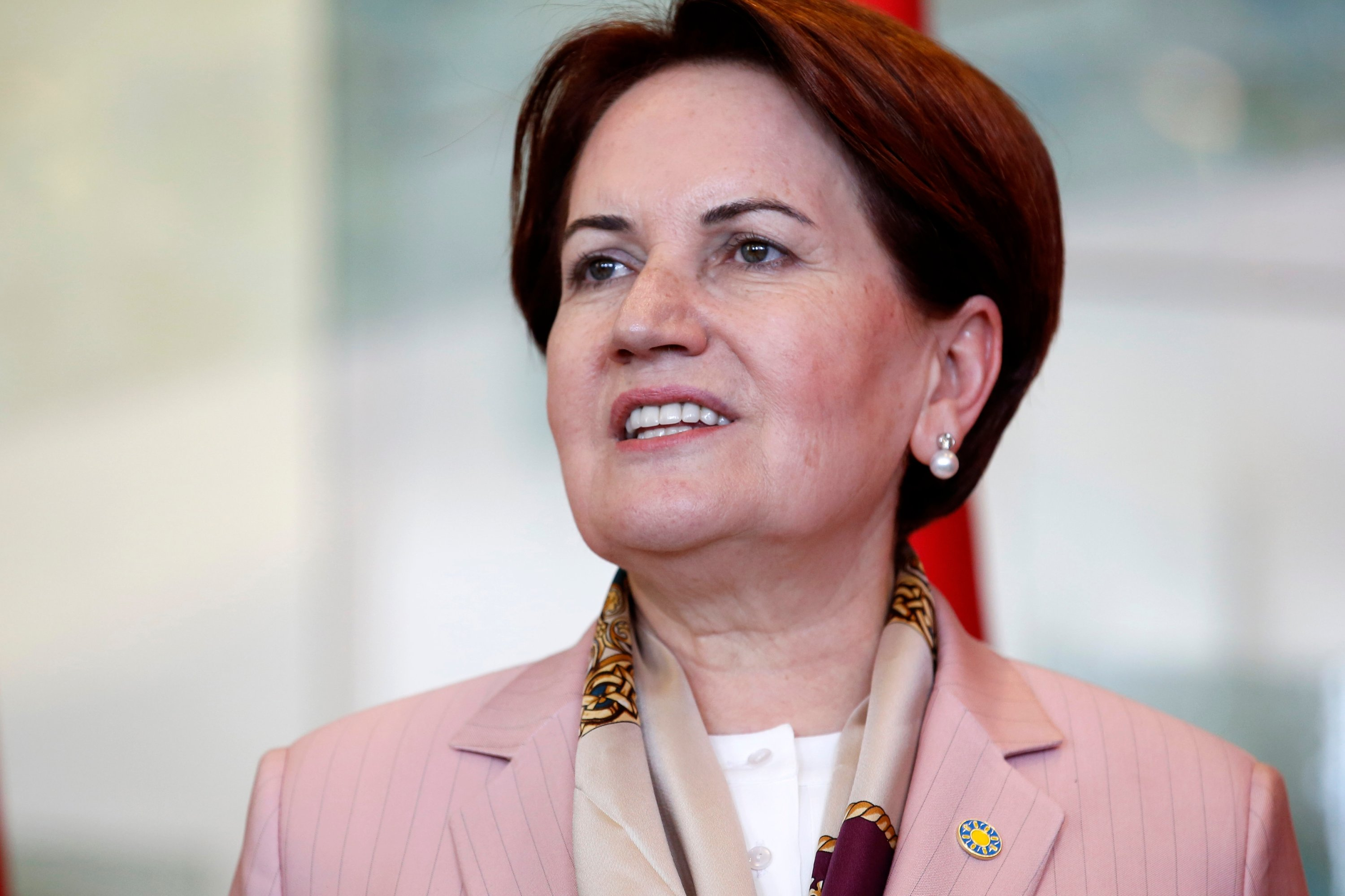 Republican People's Party (CHP) head Kemal Kılıçdaroğlu (not pictured) and Good Party (IP) head Meral Akşener discussed possible alliance formulas before the presidential election in Ankara, Turkey, April 25, 2018. (Shutterstock Photo)