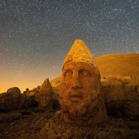 Sunrise, stargazing and massive stone heads at Turkey's Mt. Nemrut; AFP