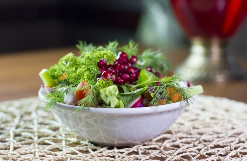 A mixed salad from the menu of Yanyalı Fehmi Lokantası. (Courtesy of Yanyalı Fehmi Lokantası)