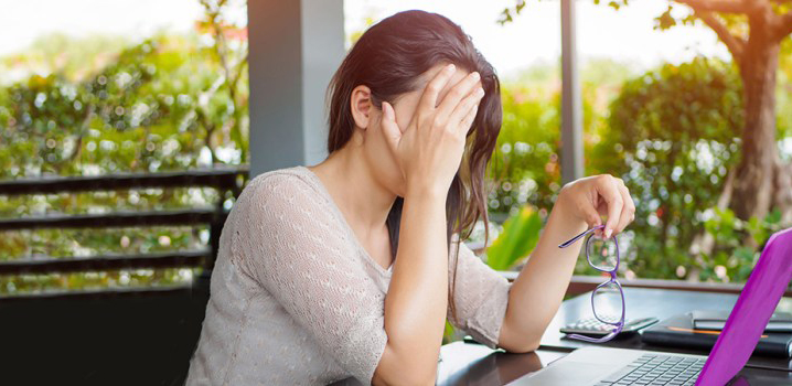 Computer use frustration