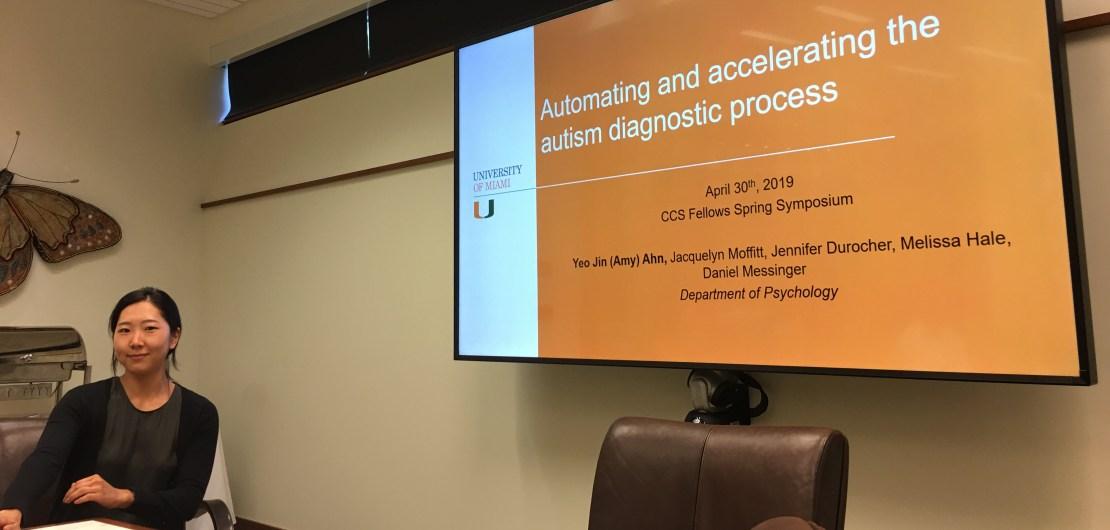 "Yeo Jin ""Amy"" Ahn, CCS Fellows Symposium Spring 2019"