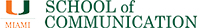 University of Miami School of Communication logo