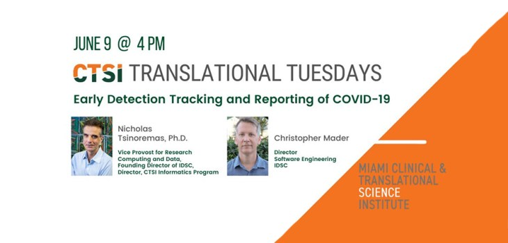 CTSI Translational Tuesday flyer