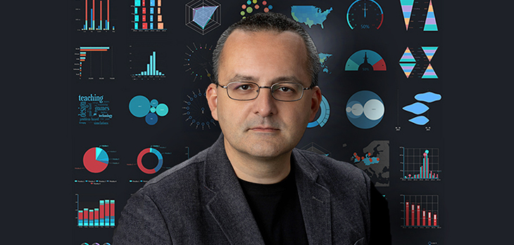 Meet a Data Scientist, Alberto Cairo, University of Miami Institute for Data Science and Computing lecture series