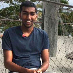 Sathvik Palakurty, 2017-2018 IDSC Fellow