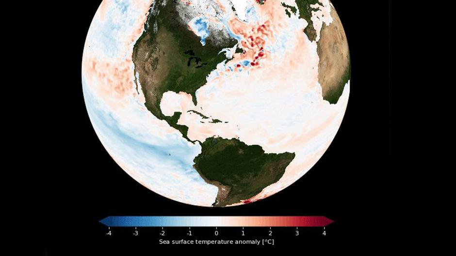 sea surface temperatures
