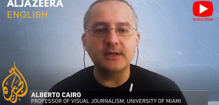 Alberto Cairo on Al Jazeera English