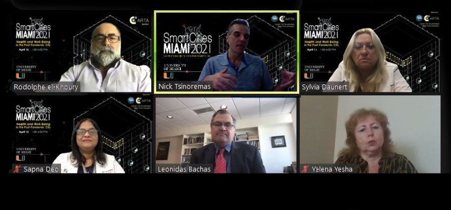 University of Miami Smart Cities MIAMI 2021 Panel 2 UM Innovation Showcase