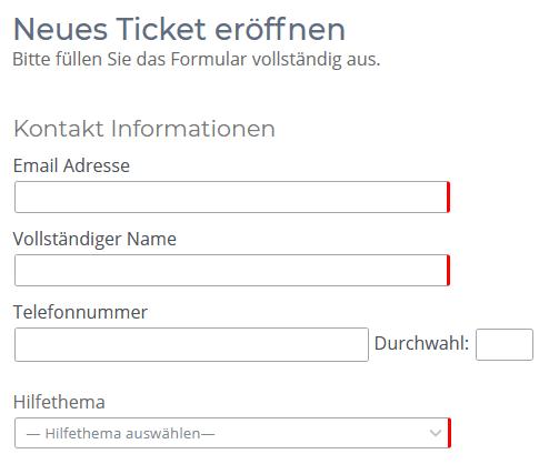 Ticket System für Reparatur MDE & Barcode Scanner
