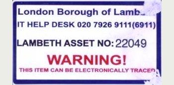 Tamper-proof Destructible label