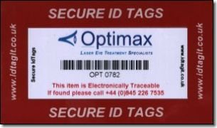 Security tags and protective covers