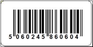 EAN-13 barcode