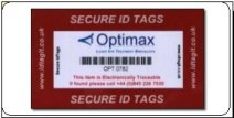 Security Asset Tags which are very difficult to remove