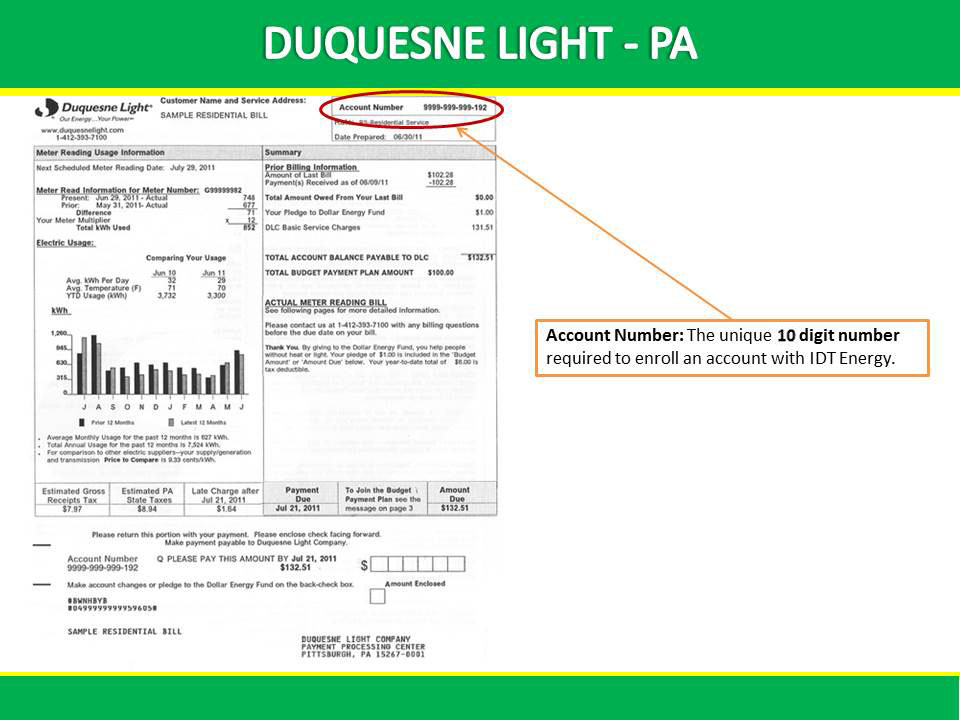 Contact Duquesne Light