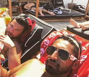 Bank of America exec and Identity thief and lover George Cadenas soak up the sun during their August 2016 trip to Mykonos Greece and Barcelona Spain. The trip and many others were paid with funds from the stolen identities and fraudulently obtained cash of Bank of America customers. Bank of America was not even aware of the fraud until contacted by associates of IDTheftReports2020.com!!! 2016 All rights reserved IDTheftReport2020.com